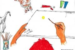 Bewegende Malerei (BTTB 7)24.05.201529,7 x 21 cmAcryl + Marker auf Papier
