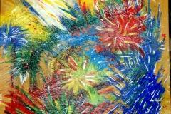 Birthday11.01. - 10.02.200331 x 31 cmGouache auf Karton