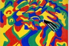 Blackhand30.07. - 03.08.200342 x 29,5 cmAcryl auf Papier
