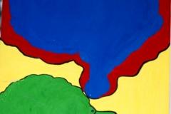 Brain27.10.200055 x 42 cmGouache auf Papier