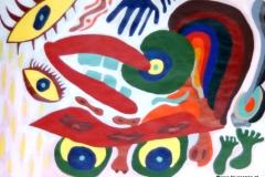 BrokenMan18.04.201242 x 29,5 cmAcryl auf Papier