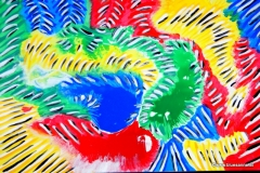 Caterpillar00.00.200142 x 29.5 cm Wasserfarbe auf Papier