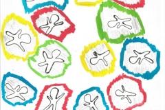 ColorMandl02.10.200129,4 x 21 cm Wasserfarbe + Bleistift + Tinte auf Papier