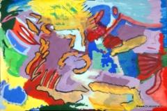 ColoredWorld00.00.201163 x 44 cmAcryl + Goache auf Papier