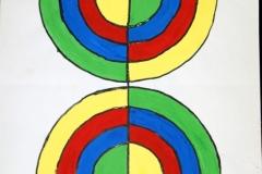 DoubleTarget09.11.199942 x 29,5 cmWasserfarbe auf Papier