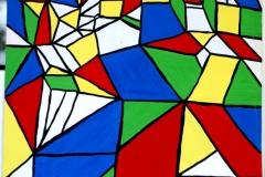 DownTown05.01.200256 x 42 cmGouache + Plaka auf Papier