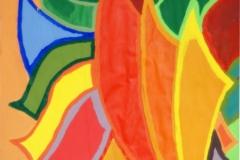 Dragon18.02.200342 x 29,5 cmGouache auf Papier