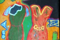 Dress20.03.201242 x 29,5 cmAcryl auf Papier