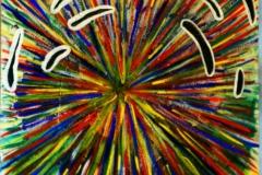 Exploded08.03.200250 x 35 cmAcryl auf Karton