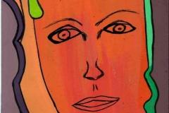 FlatFace22.02. - 23.02.200329,7 x 21 cmAcryl auf Karton