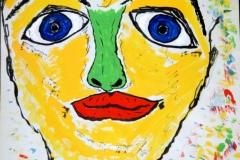 FunnyFace17.09.199942 x 29,5 cmWasserfarbe auf Papier