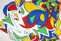 FunnyTime12.09. - 17.09.199942 x 29,5 cmWasserfarbe auf Papier