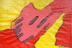 Geflickt17.02.  - 19.02.200342 x 29,5 cmAcryl + Gouache auf Papier