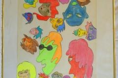Glasys11.12. - 12.12.200156 x 42 cmBuntstift + Tusche auf Papier
