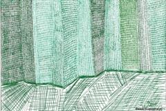 GreenPlattenbau05.10.201629,4 x 21 cm Fineliner auf Papier