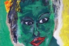 Greeny01.02.200341,5 x 29,5 cmAcryl + Gouache auf Kartonpapier