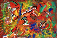 Höhle25.02.200342 x 29,5 cmAcryl + Gouache auf Karton
