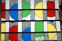 Halfkringls28.02.201263 x 44 cmAcryl + Tinte auf Papier