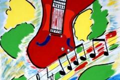 JLH-Blues02.10.  - 07.10.200050 x 42 cmGouache auf Papier