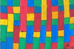 Kasteln213.02.199929,4 x 21 cm Wasserfarbe auf Papier