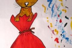 Katze im Sack29.12.201532 x 24 cmAcryl + Marker auf Papier