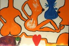 KissMe11.10.201470 x 50 cmEitempera auf Kartonpapier