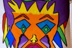 Klunni04.01. - 05.01.200256 x 42 cmWasserfarbe auf Papier