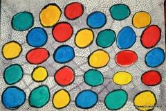 KreisKringl13.02. - 14.02.199942 x 29,5 cmWasserfarbe + Tinte auf Papier