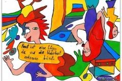 Kunst ist22.08.201229,7 x 21 cmAcryl + Tusche auf Papier