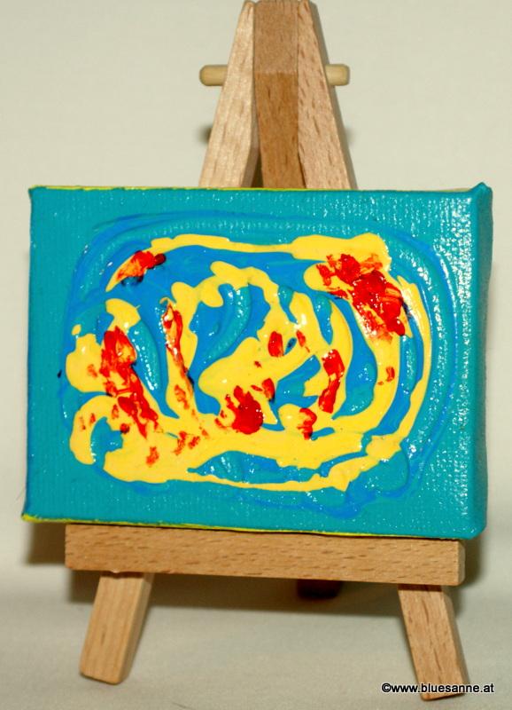 Karibik31.05.20128 x 6 cmAcryl + Varnish auf Leinwand + Staffel