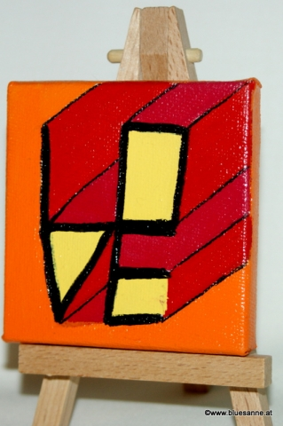 Love	17.11.2012	7 x 7 cm	Acryl + Varnish auf Leinwand + Staffel