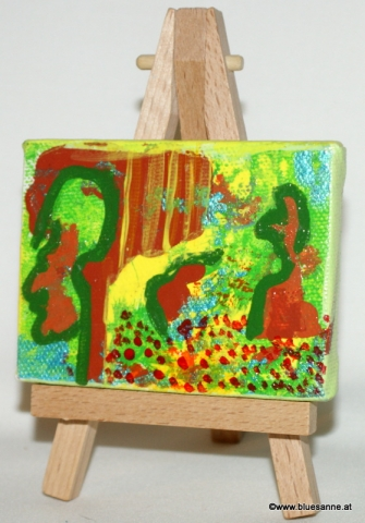 MeetNature	27.07.2012	8 x 6 cm	Acryl + Varnish auf Leinwand + Staffel