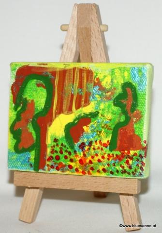 MeetNature27.07.20128 x 6 cmAcryl + Varnish auf Leinwand + Staffel