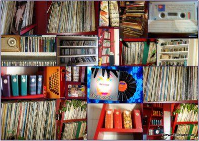 Schallplattensammlung