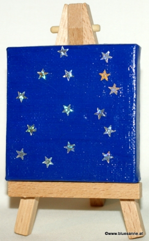 Sternenhimmel20.10.20127 x 7 cmAcryl + Varnish auf Leinwand + Staffel