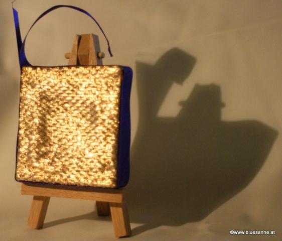 ViolettStar (Rückseite) 15.11.20127 x 7 cmAcryl + Varnish auf Leinwand + Staffel