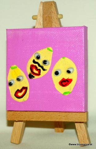 Zitronen09.09.20127 x 7 cmAcryl + Varnish auf Leinwand + Staffel