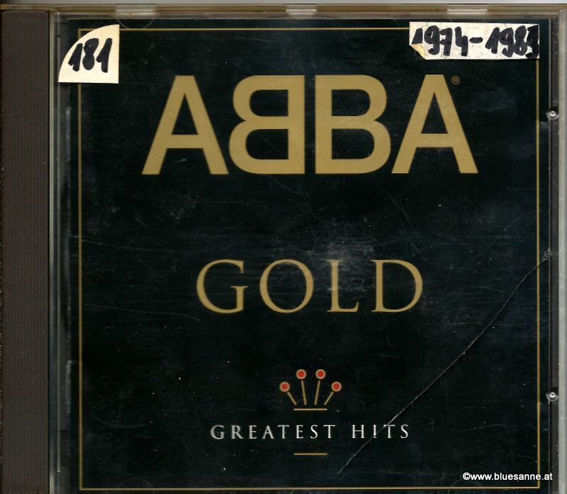 ABBA ‎– Gold (Greatest Hits) CD