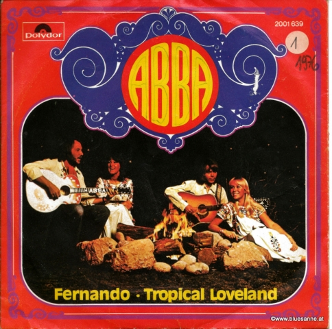 Abba Fernando 1976 Single