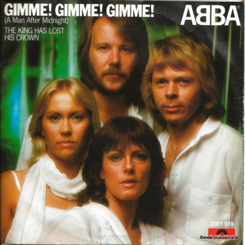 Abba Gimme Gimme Gimme 1979 Single