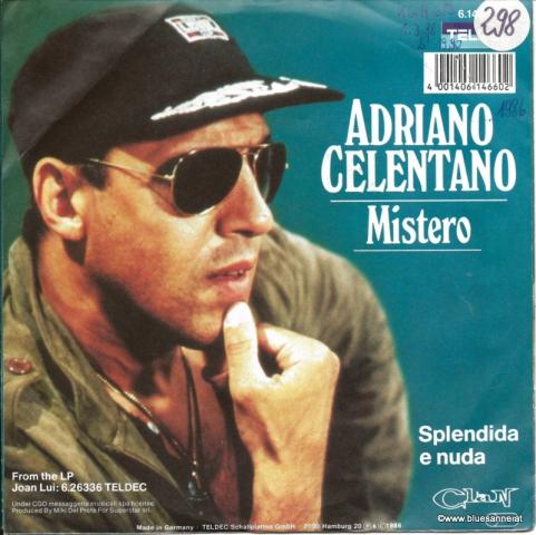 Adriano Celentano - Mistero 1986