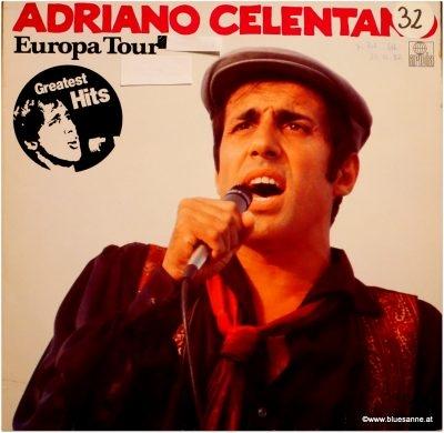 Adriano Celentano Europa Tour LP