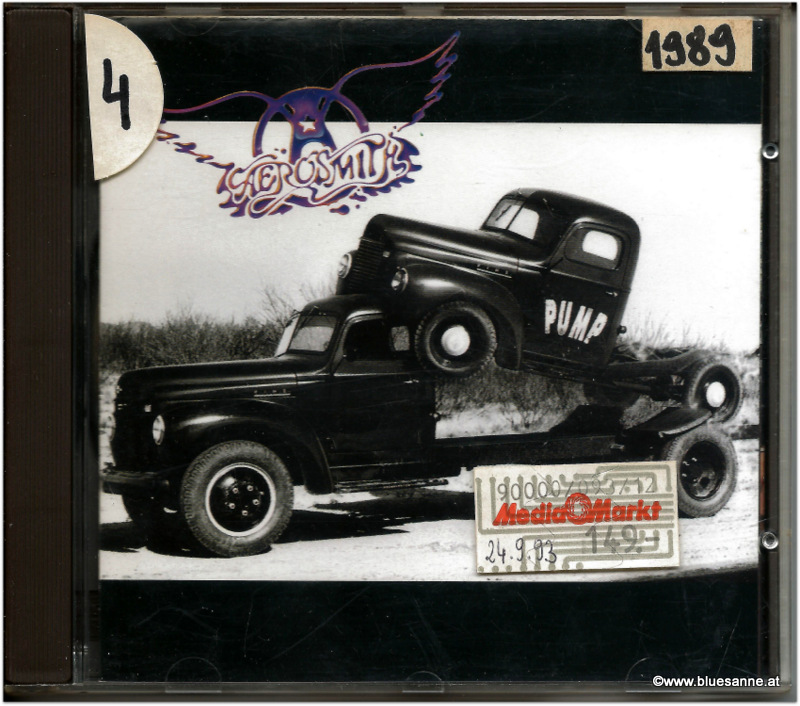 Aerosmith Pump 1989 CD