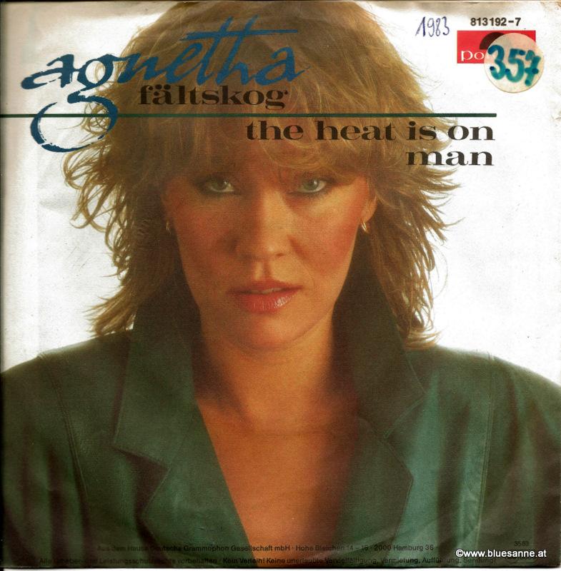 Agnetha Fältskog – The Heat Is On  1983 Single