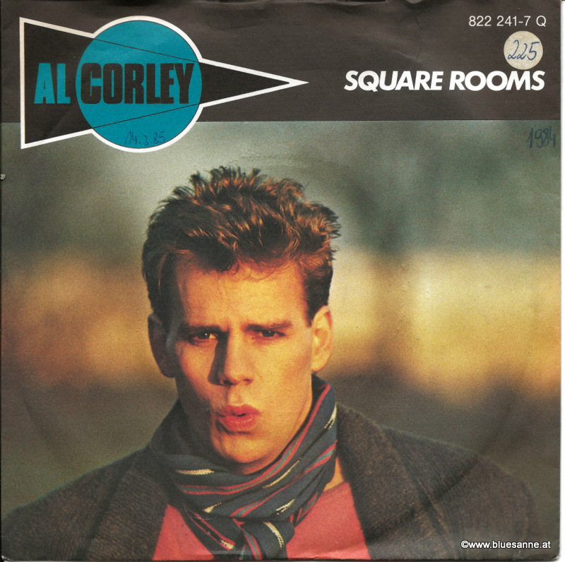 Al Corley ‎– Square Rooms 1984
