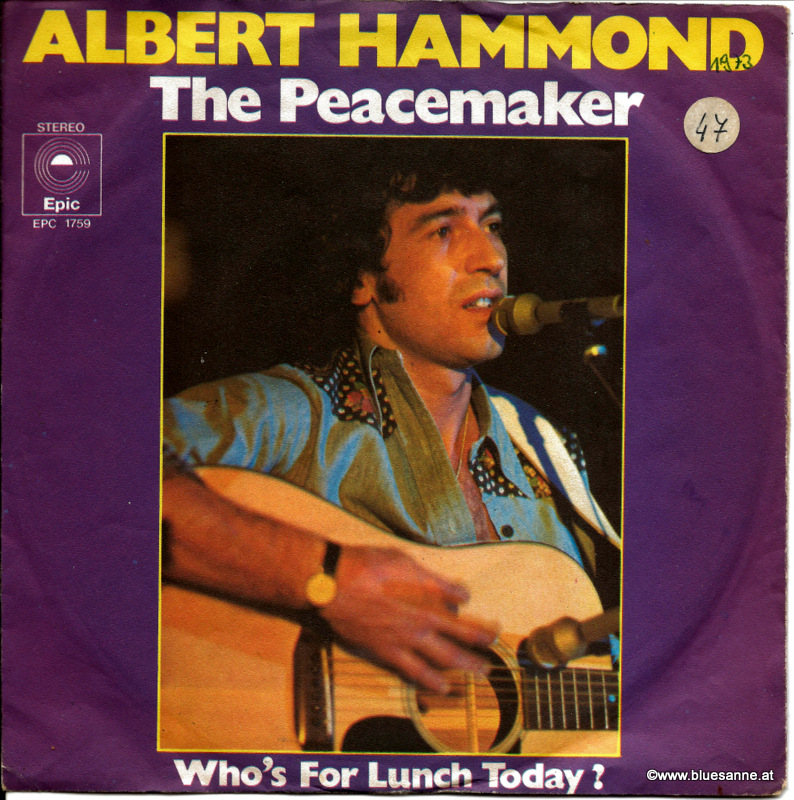 Albert Hammond ‎– The Peacemaker 1973