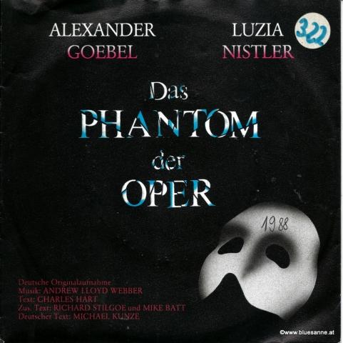 Alexander Goebel, Luzia Nistler – Das Phantom Der Oper 1988