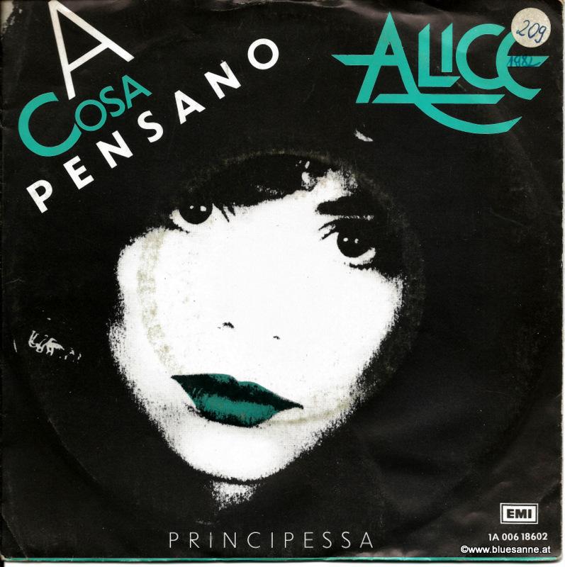 Alice-A cosa Pensano 1982