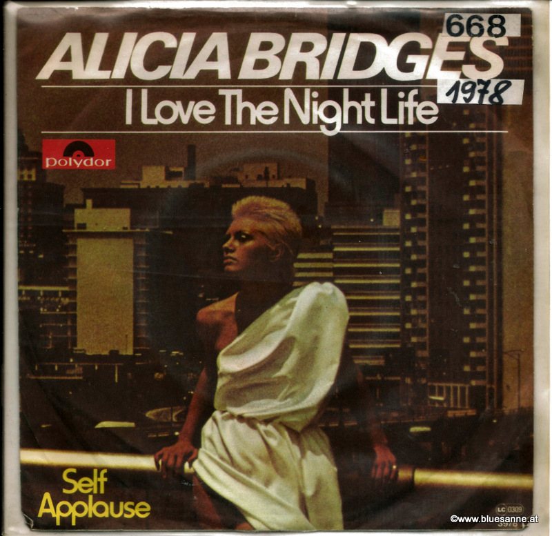 Alicia Bridges ‎– I Love The Nightlife 1978