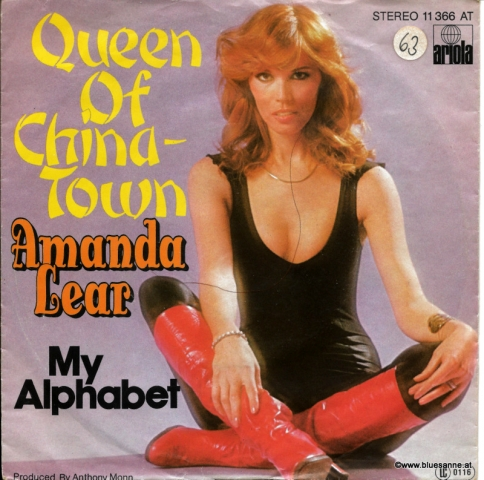 Amanda Lear Queen of Chinatown 1977 Single